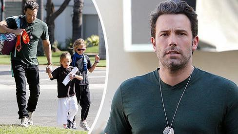 Ben Affleck je vzorný tatínek.