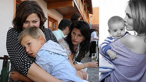 Ilona Csáková i Lucie Vondráčková řeší nemoci svých dětí.