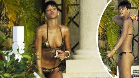 Rihanna je na Barbadosu sama. Chris je zřejmě opravdu ze hry.