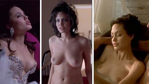 Angelina Jolie ve svých slavných rolích.