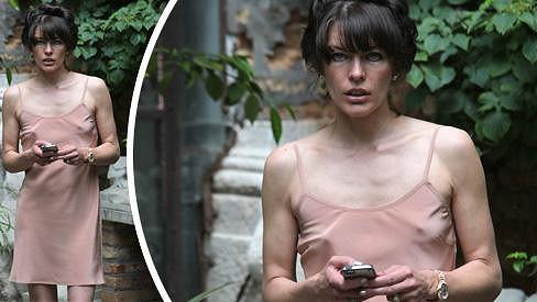 Milla Jovovich se ztrácí před očima.
