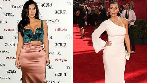 Kim Kardashian jako šoubyznysem protřelá osobnost a v počátcích slávy