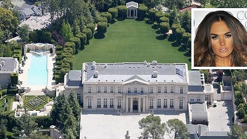 Tento dům v Los Angeles si pořídila Tamara Ecclestone.