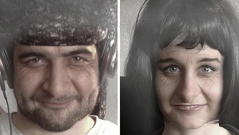 Takhle nějak by prý mohli vypadat Sabina Křováková a Štefan Pčelár.