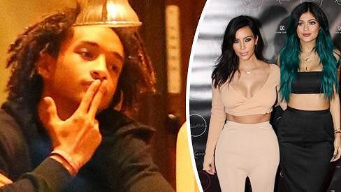 Jaden Smith randí s Kylie Jenner.