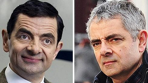 Rowan Atkinson se proslavil jako Mr. Bean.