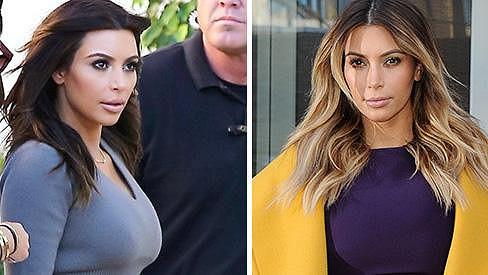 Kim Kardashian se vrátila ke své původní barvě vlasů...