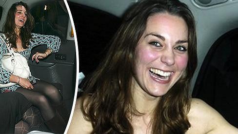 Kate Middleton si uměla užít mládí...