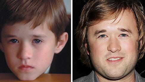 Haley Joel Osment za 14 let pořádně vyrostl.
