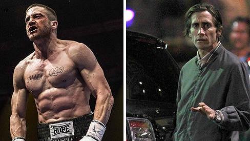 Jake Gyllenhaal se kvůli rolím drasticky mění.
