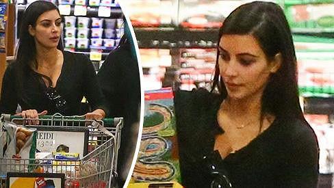 Kim Kardashian jako žena z lidu
