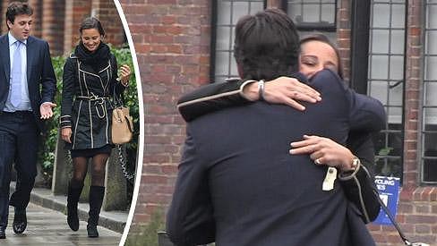 Pippa Middleton v Londýně ve společnosti neznámého muže.