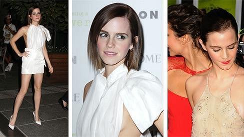 Emma Watson zvolila další odvážný model.