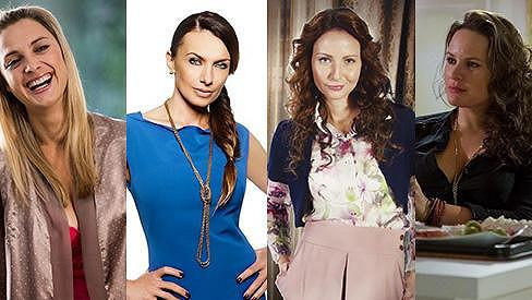 Letos se na televizních obrazovkách objevila řada krásných hereček.