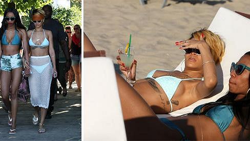 Rihanna si s kamarádkou volno v Polsku moc neužila.