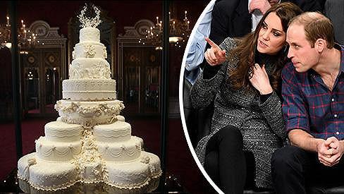 William s Kate musí žasnout, kolik je někdo ochotný zaplatit za nedojedený kousek jejich osmipatrového svatebního dortu.