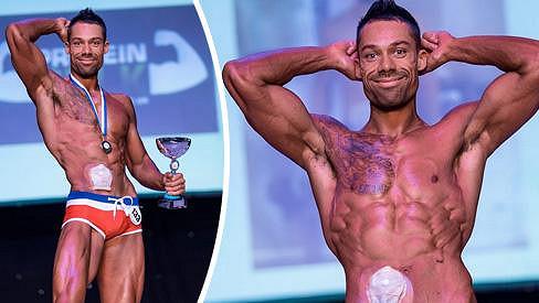 Blake Beckford zvítězil na soutěži Fitness Model.