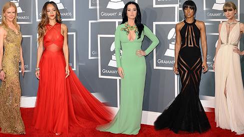 Kdo zářil na Grammy 2013?
