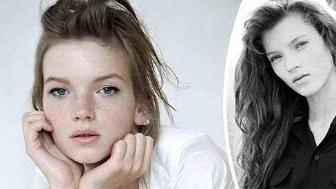 Evě Klímkové nevadí, že ji srovnávají s Kate Moss.