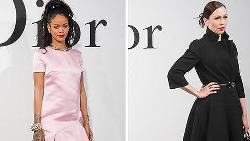 Rihanna a Zuzana Stivínová na stejné akci