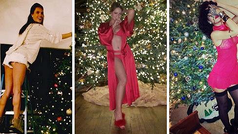 Vánoční snímky z archivu celebrit