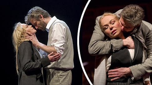 Dagmar Havlová a Roman Zach spolu hrají v dramatu Rebeka.