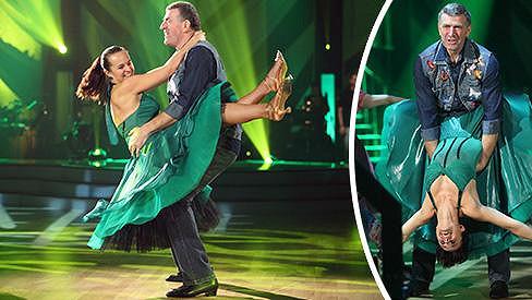 Imrich Bugár a Jitka Šorfová tančí jive.