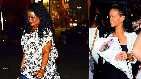Rihanna v Den matek pozvala svou maminku na oběd.