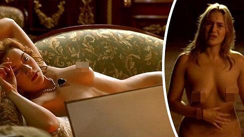 Kate Winslet má bohatý repertoár nahých scén.