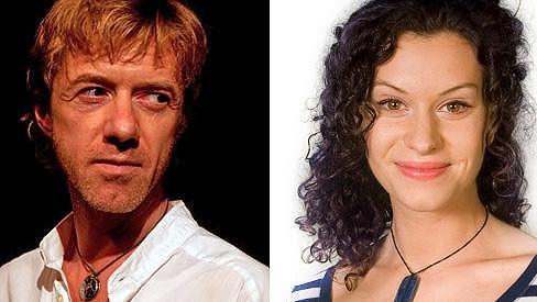 S touto krásnou herečkou strávil Jiří Langmajer dovolenou.