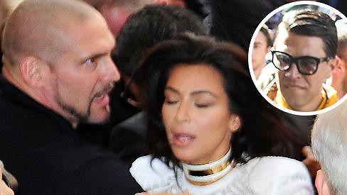 Kim Kardashian před přehlídkou Balmain napadl problémový ukrajinský novinář.