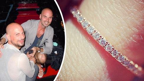Zasnoubení v Benátkách s prstenem za skoro sto čtyřicet tisíc