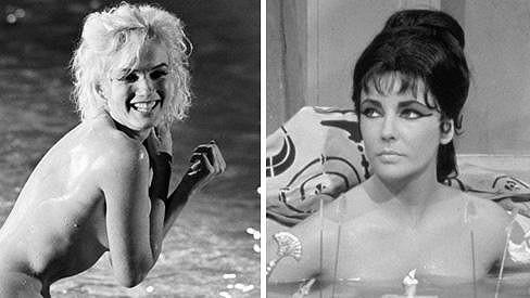Výdělky Marilyn a Liz se v roce 1962 hodně lišily.