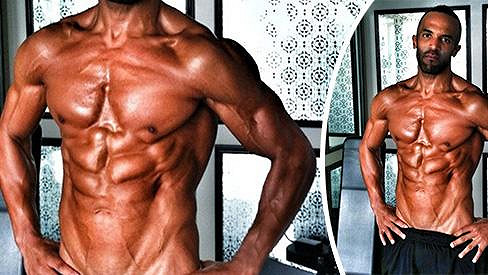 Muskulatura Craiga Davida