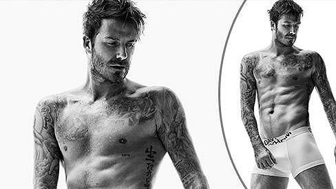 David Beckham propůjčil své tělo další reklamě.