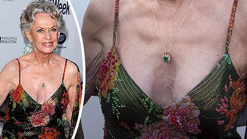 Tippi Hedren překvapila svou odvahou ve výběru šatů.
