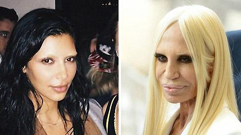 Kim připomíná Donatellu.