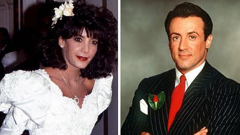 Toni Ann Filiti a Sylvester Stallone.