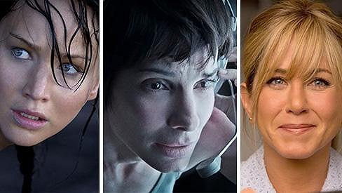 Trojice nejlépe placených hereček uplynulých dvanácti měsíců