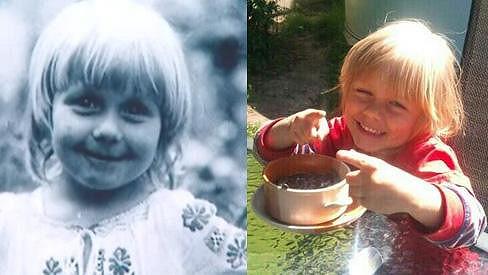 Dcera Terezy Pergnerové Natálka je své mámě velmi podobná.