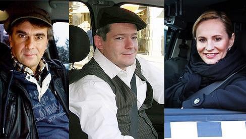 Tomáš Matonoha, Aleš Háma a Monika Absolonová v Taxíku prozatím končí.