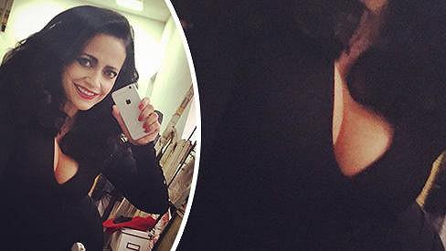 Lucie Bílá podlehla kouzlu selfie.