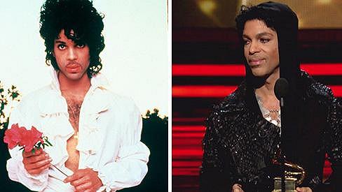 Prince stále působí jako mladík.
