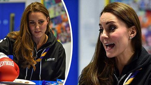 Takhle vévodkyni Kate jen tak neuvidíte.