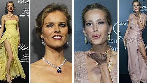 České modelky v Cannes