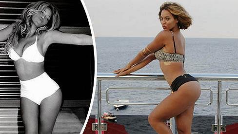 Beyoncé se má hodně ráda...