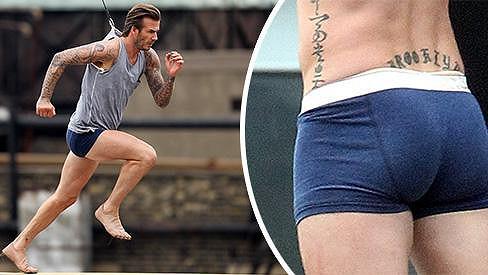 David Beckham opět hvězdou reklamy na vlastní řadu spodního prádla.