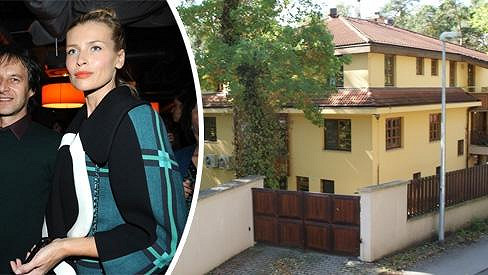 V této obrovské vile žije Pavol Habera s Danielou Peštovou.