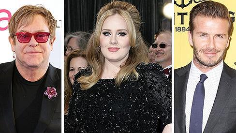 Adele, Elton John a David Beckham si společně zahrají ve filmu.