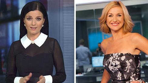 Terezie Kašparovská (vpravo) nemusí kolegyni Anetu Savarovou.